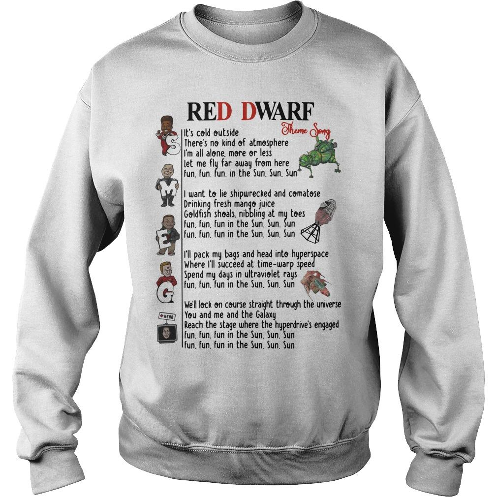 Red Dwarf Theme Song Sweater
