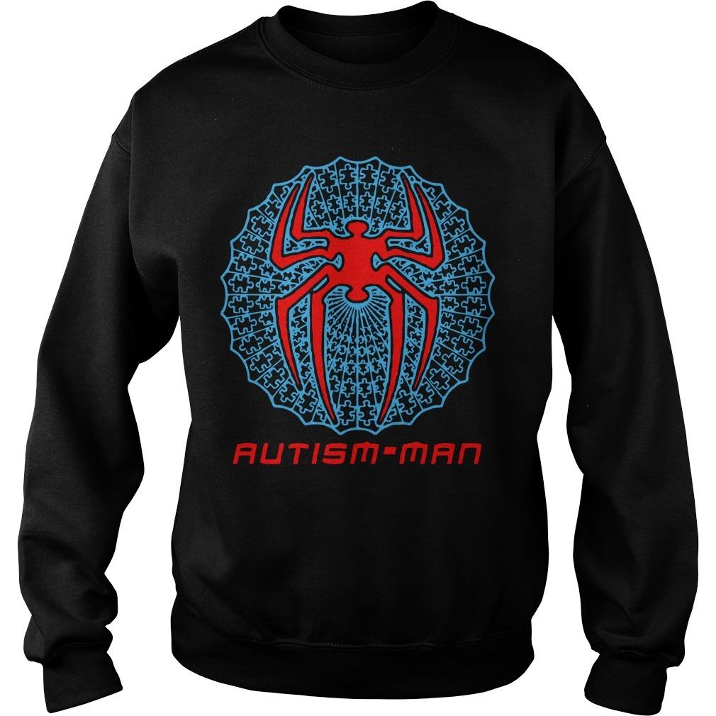 Spider Man Autism Man SweaterSpider Man Autism Man Sweater