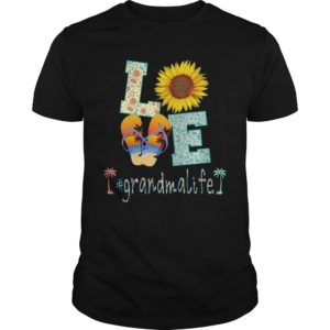 Sunflower Beach Love #grandmalife Shirt
