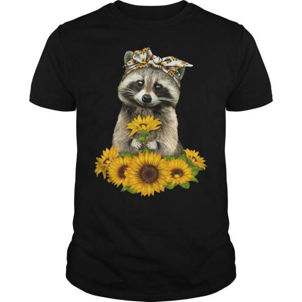 Sunflower Raccoon Shirt