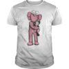 Uniqlo Pink Kaws T Shirt