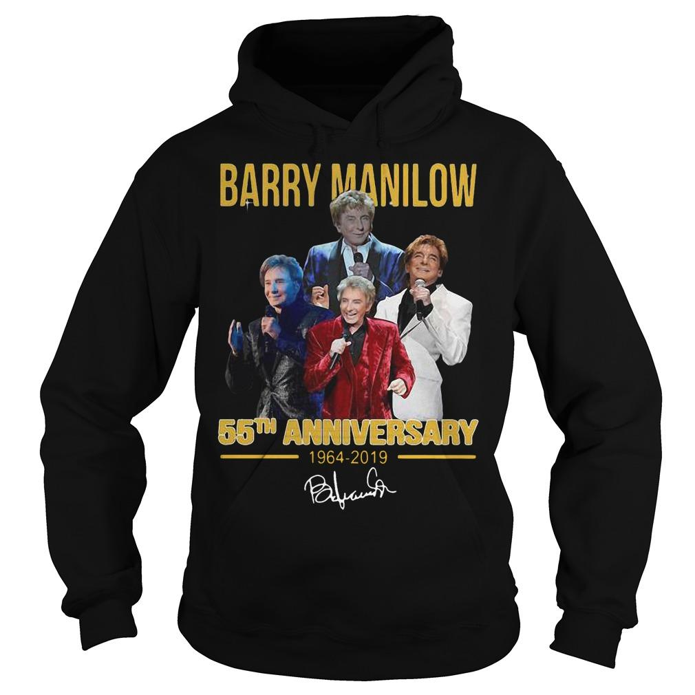 Barry Manilow 55th Anniversary 1964 2019 Signature Hoodie