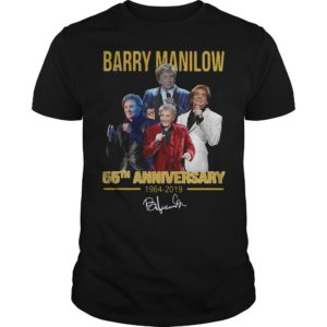 Barry Manilow 55th Anniversary 1964 2019 Signature Shirt