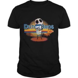 Jack Skellington Dutch Bros Coffee Shirt