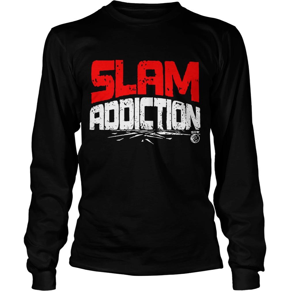 Jake Snake DDT Slam Addiction Longsleeve