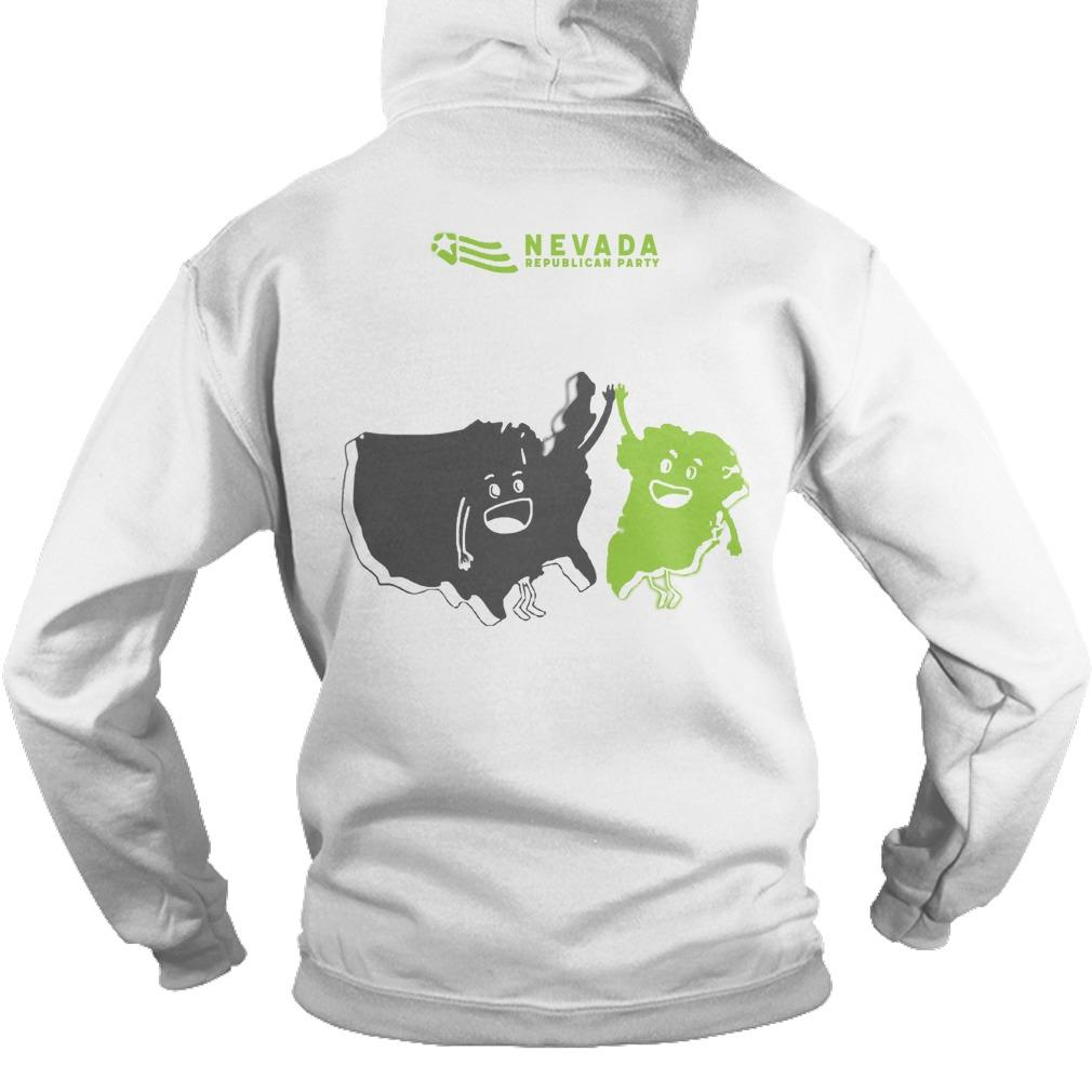 Nevada GOP Greenland The 51st State Hoodie