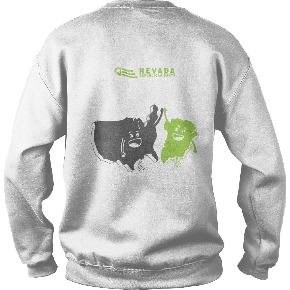 Nevada GOP Greenland The 51st State Sweater