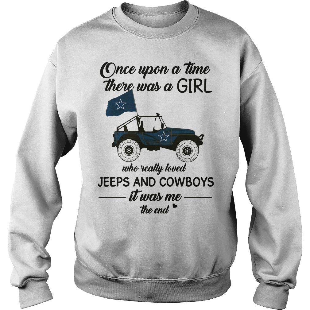 Once Upon A Time There Was A Girl Who Really Loved Jeeps And Cowboys Sweater