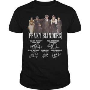Peaky Blinders Signatures