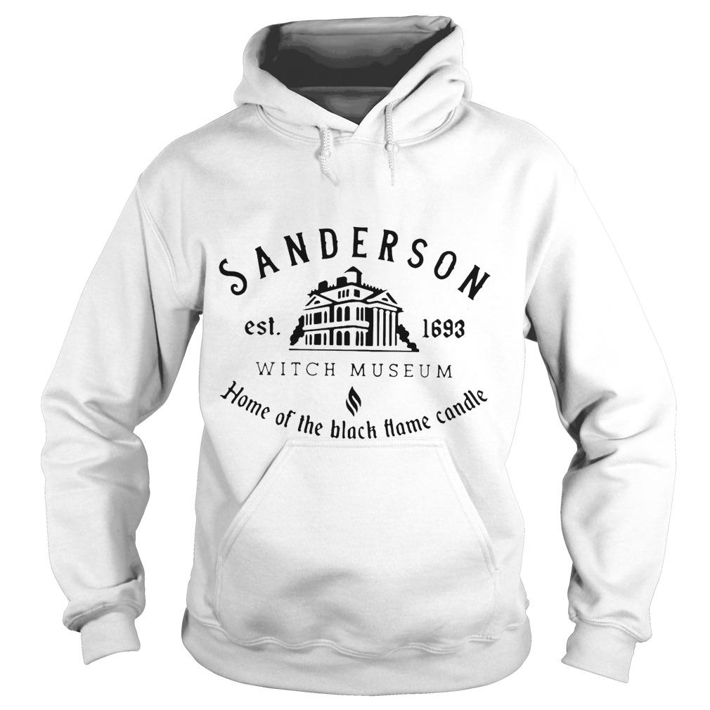 Sanderson Est 1693 Witch Museum Home Of The Black Hame Candle Hoodie
