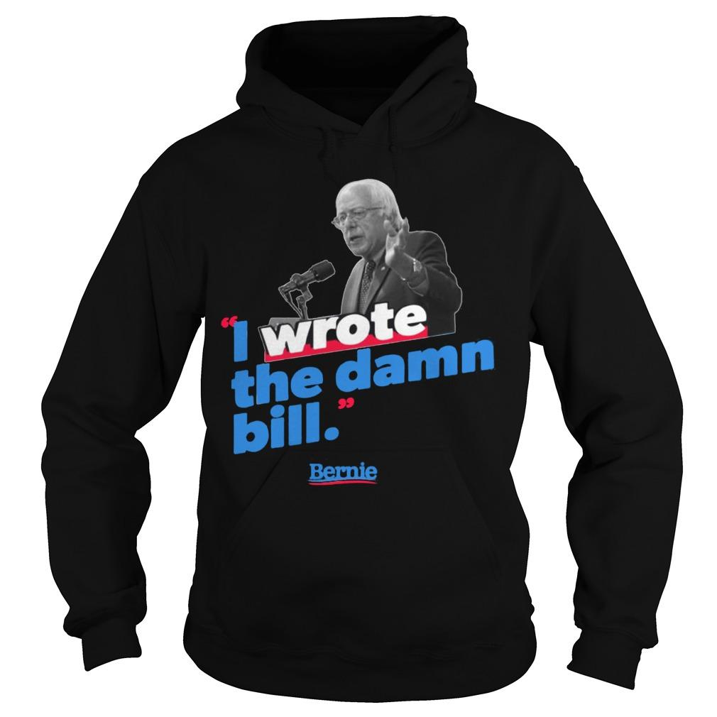 Sunset I Wrote The Damn Bill Sanders 2020 Vintage Hoodie