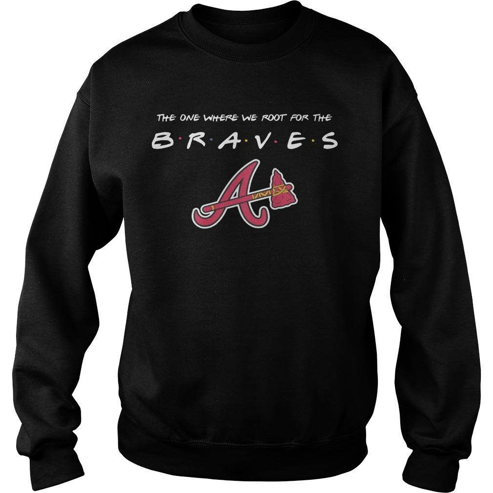 The One Where We Root For The Braves Sweater