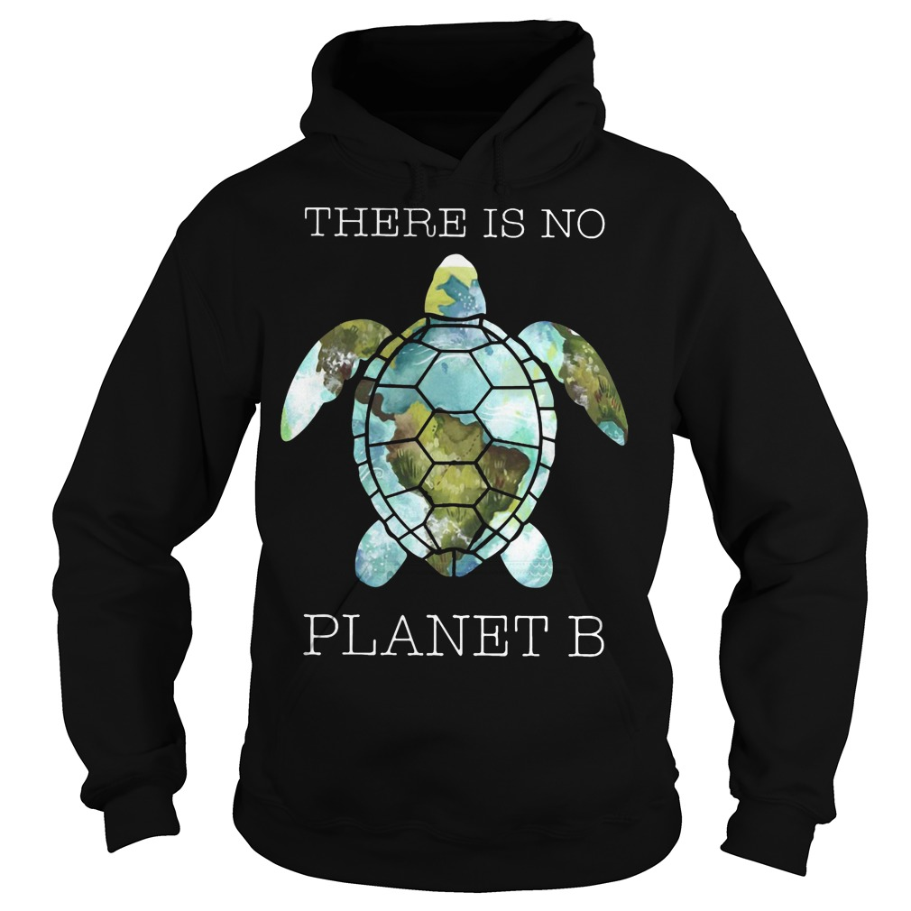 Turtle There Is Planet B Hoodie