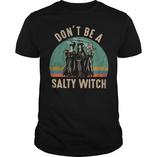 Vintage Hocus Pocus Don't Be A Salty Witch