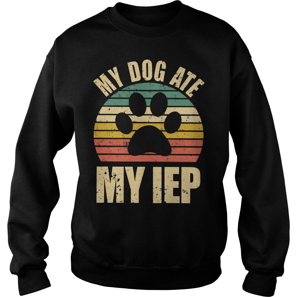 Vintage My Dog Ate My IEP Sweater