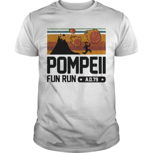 Vintage Pompeii Fun Run Ad 79 Shirt