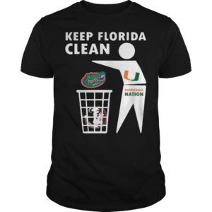 Washington Redskins Keep Florida Clean Shirt