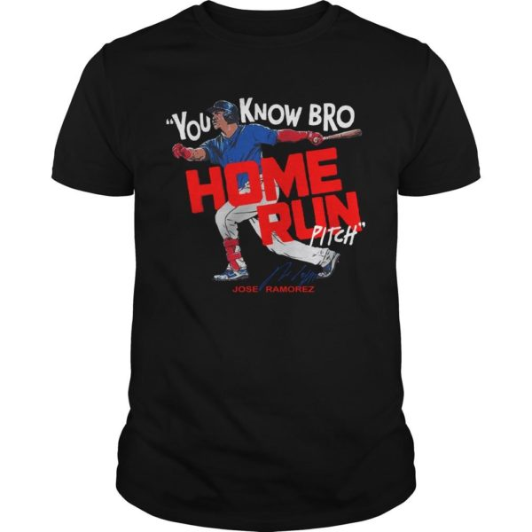 You Know Bro Home Run Pitch Shirt