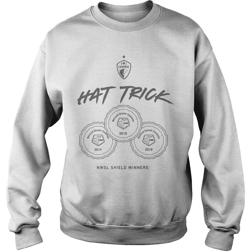 2019 NWSL Shield Winners Hat Trick Sweater