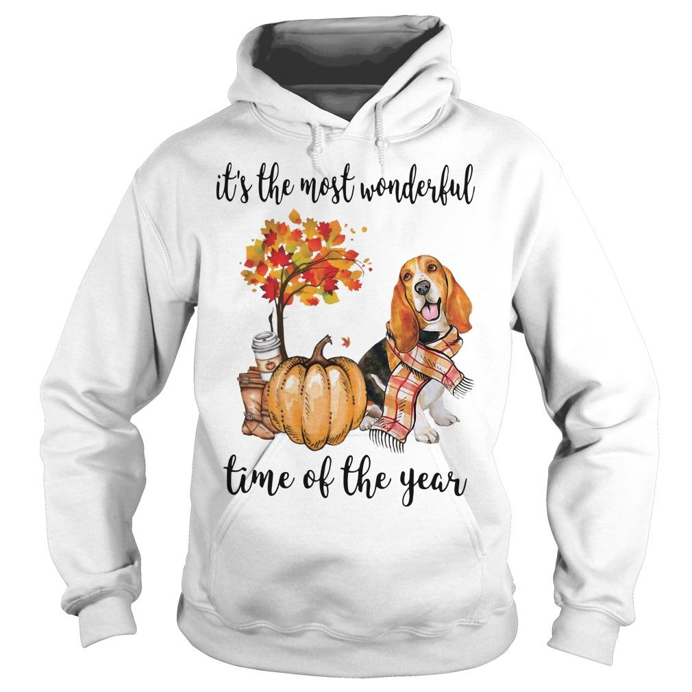Beagle It's The Most Wonderful Time Of The Year Hoodie