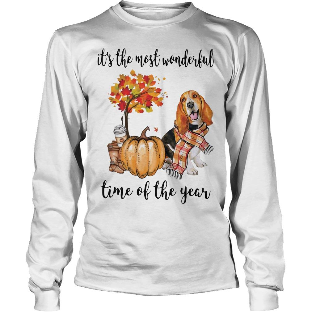 Beagle It's The Most Wonderful Time Of The Year Longsleeve