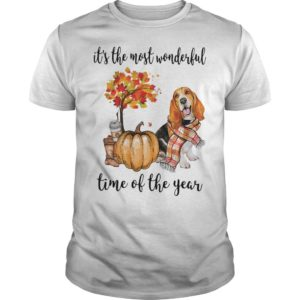 Beagle It's The Most Wonderful Time Of The Year Shirt