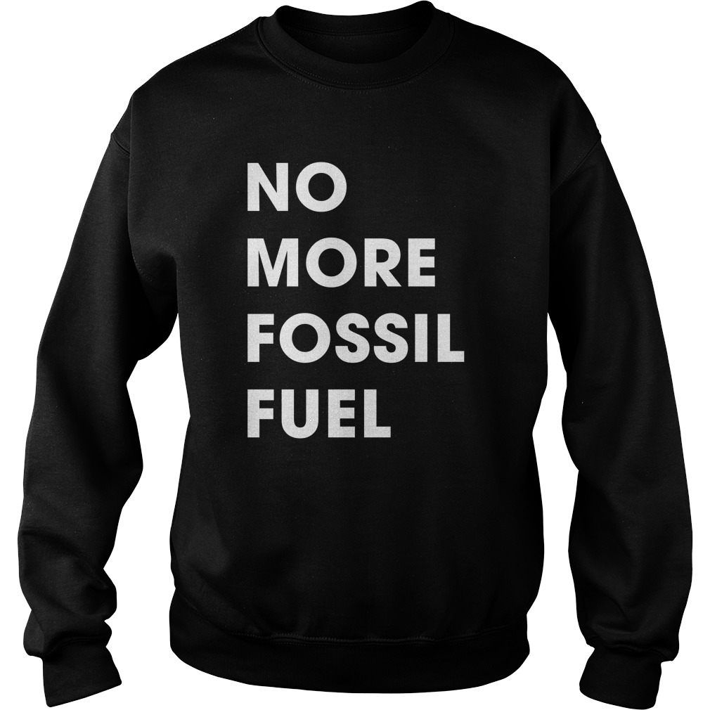 CNN Climate No More Fossil Fuel Sweater