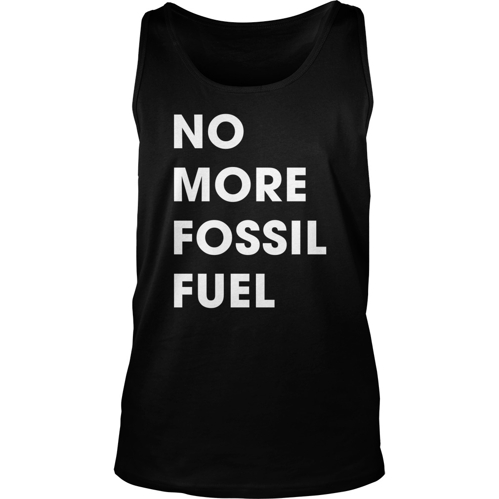 CNN Climate No More Fossil Fuel Tank Top