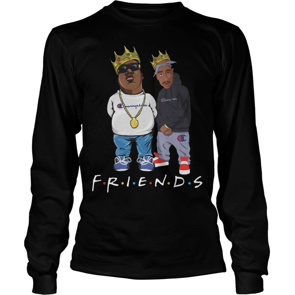 Champion Tupac Biggie Friends Longsleeve