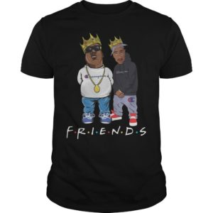 Champion Tupac Biggie Friends Shirt