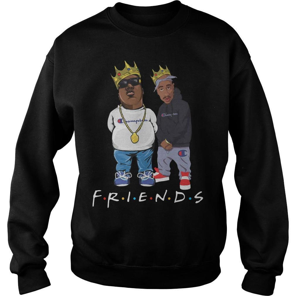 Champion Tupac Biggie Friends Sweater