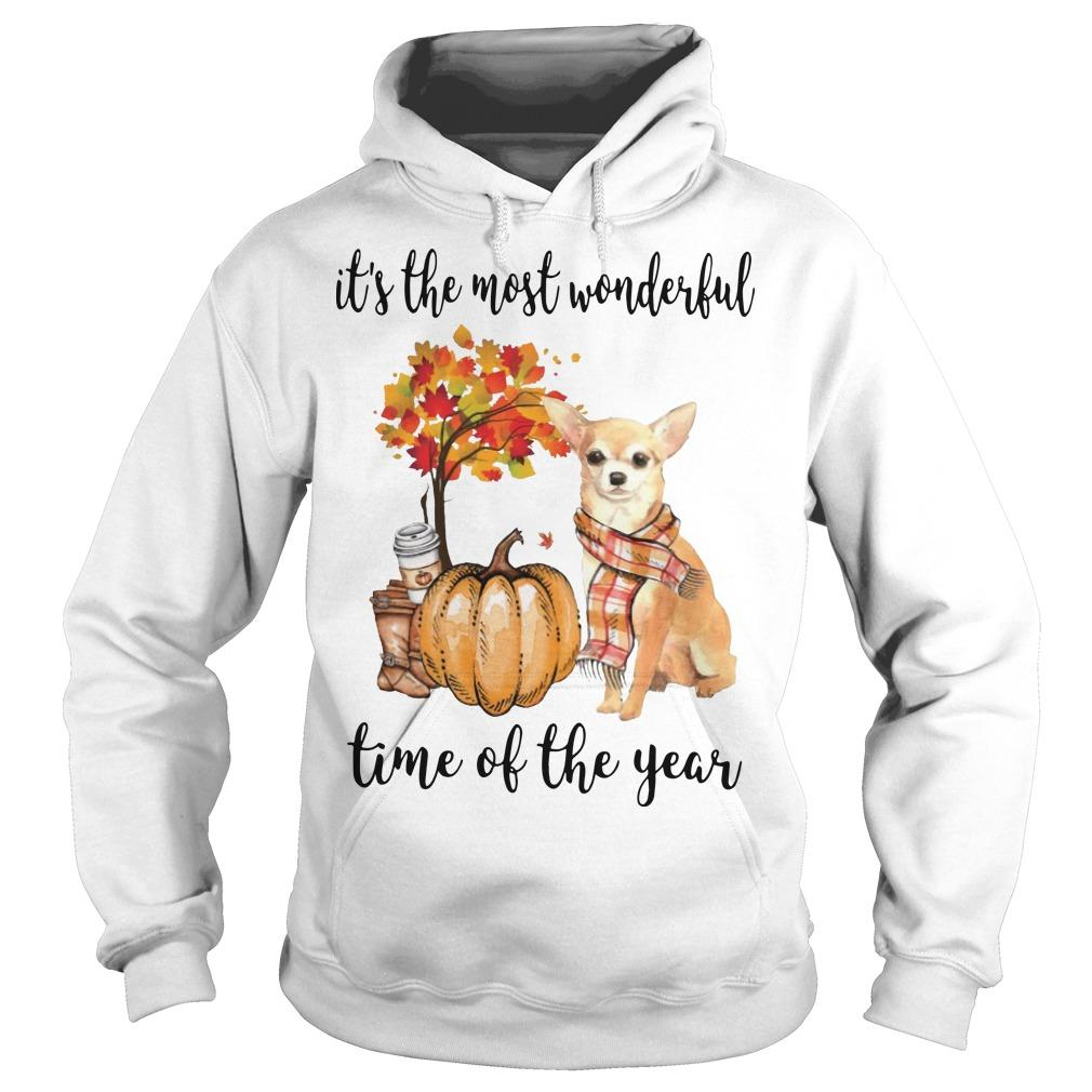 Chihuahua It's The Most Wonderful Time Of The Year Hoodie