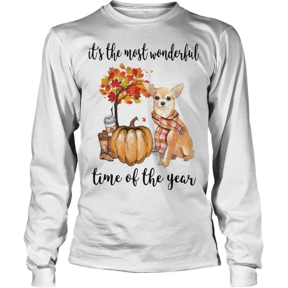 Chihuahua It's The Most Wonderful Time Of The Year Longsleeve
