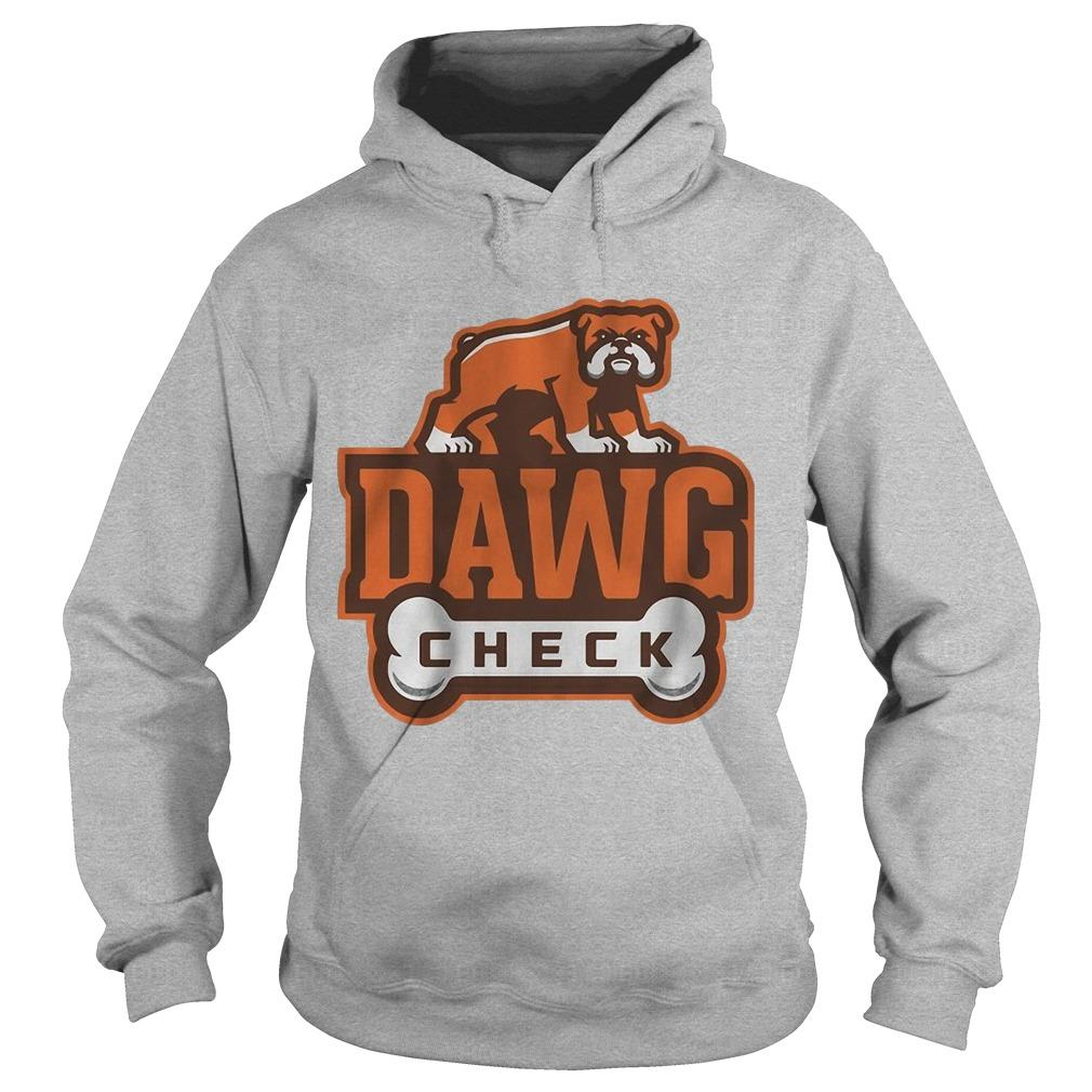 Cleveland Browns Dawg Check Hoodie