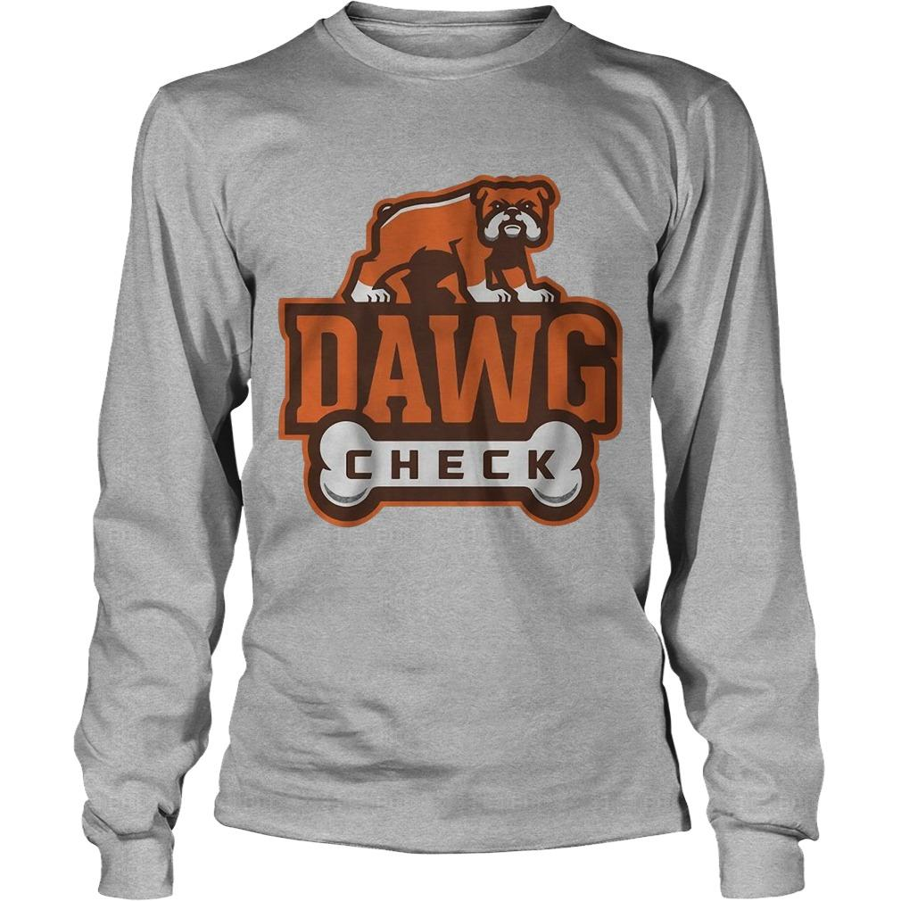 Cleveland Browns Dawg Check Longsleeve