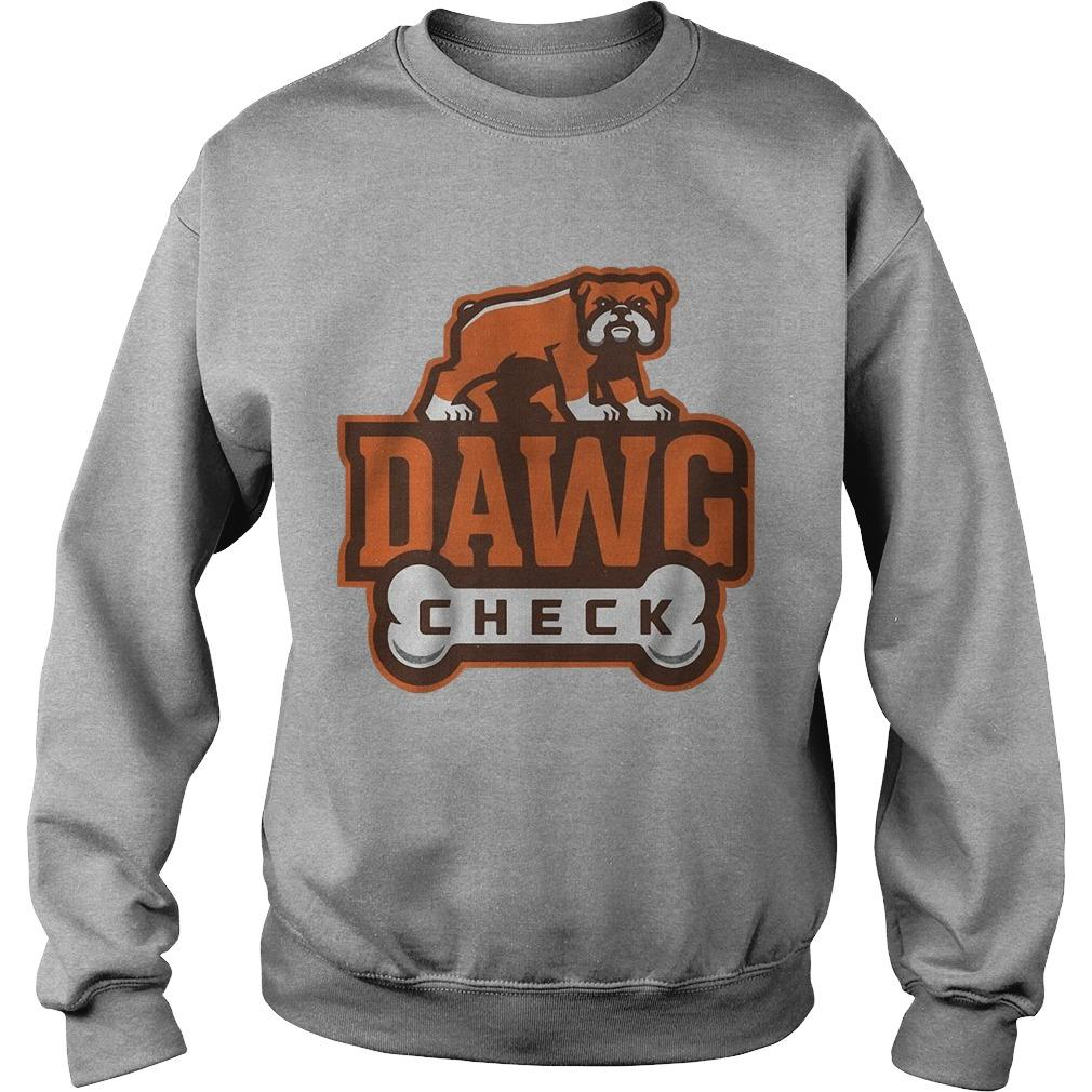 Cleveland Browns Dawg Check Sweater