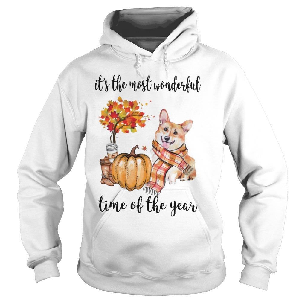 Corgi It's The Most Wonderful Time Of The Year Hoodie