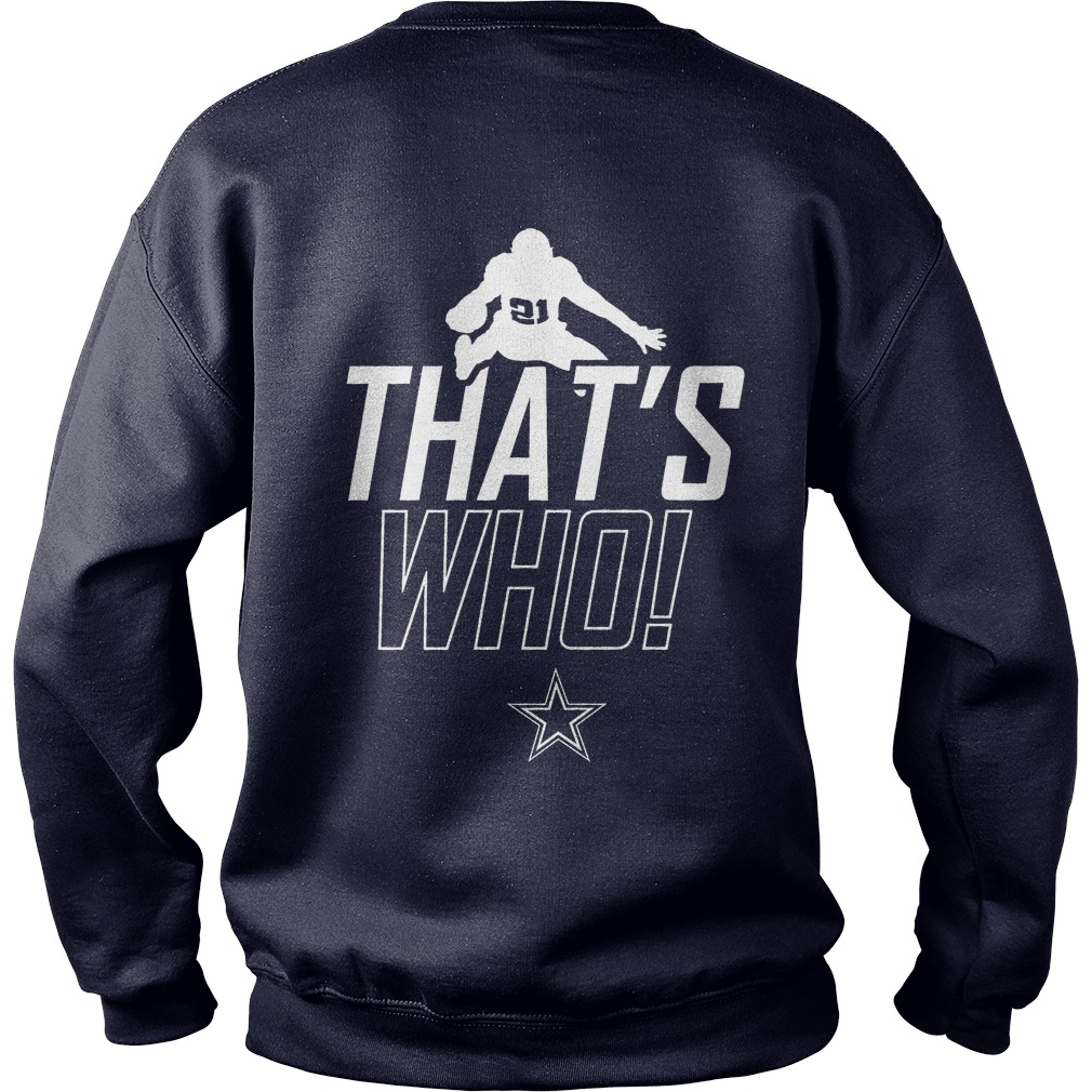Dallas Cowboys Zeke Who That's Who Sweater