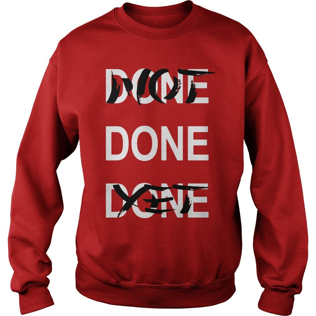 Derrick Rose Done Done Done Not Done Yet Sweater