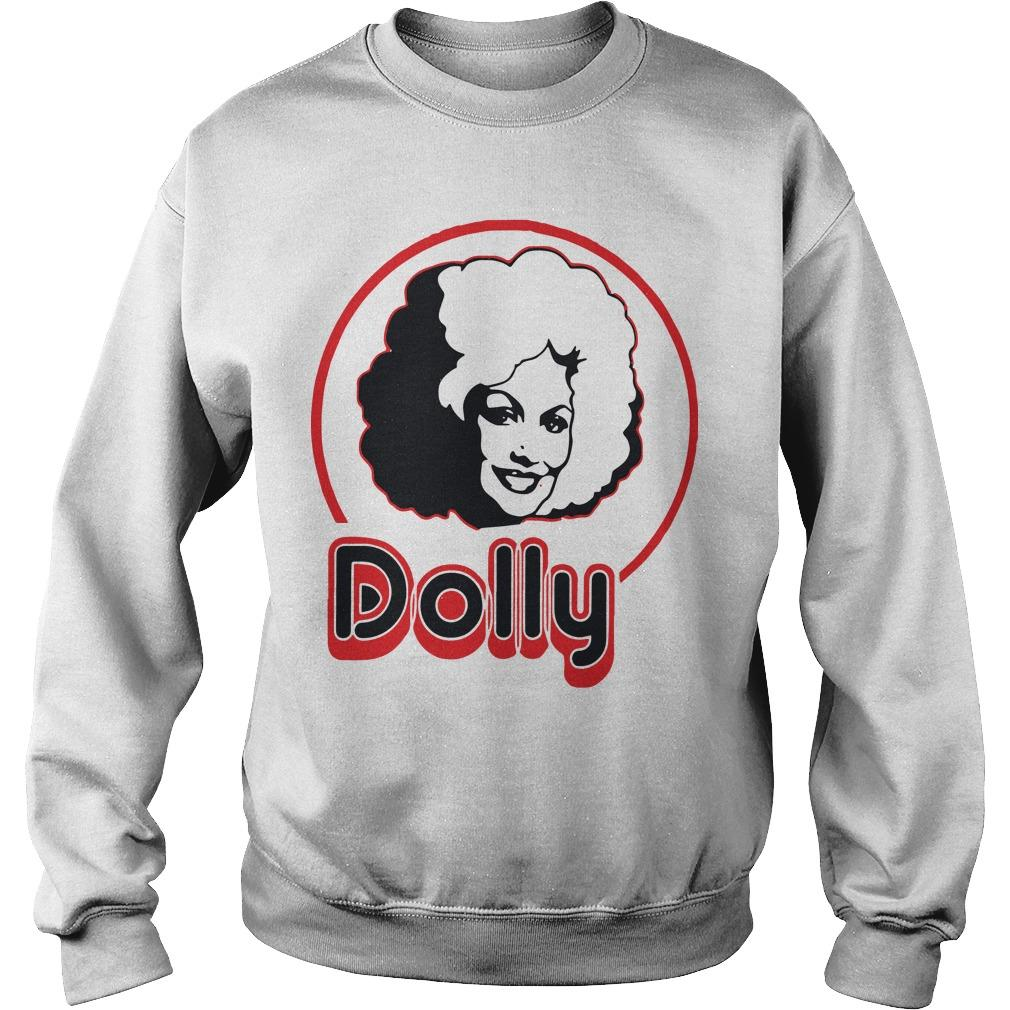 Dolly Parton In A Short Sleeve Sweater