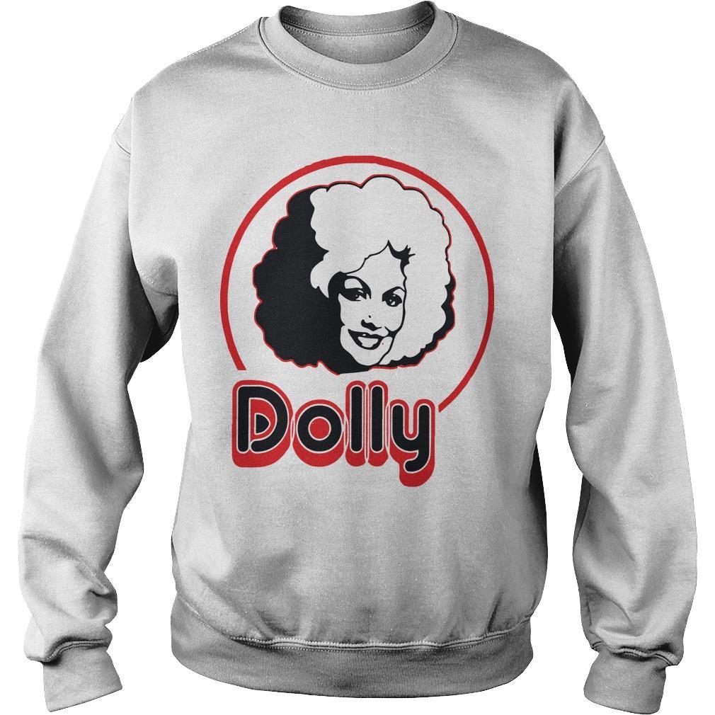 Dolly Parton Short Sleeve Sweater