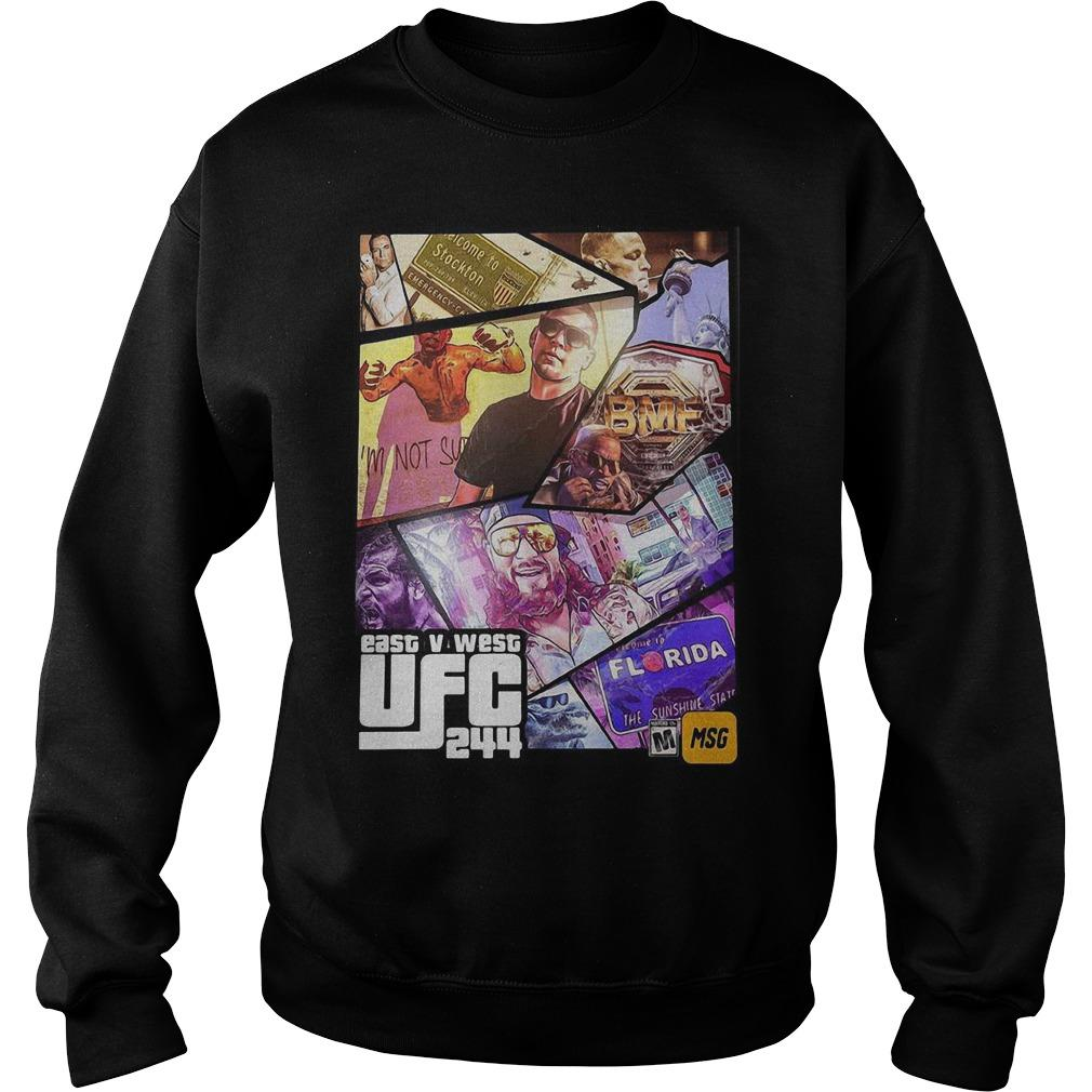 East V West Ufc 244 Sweater