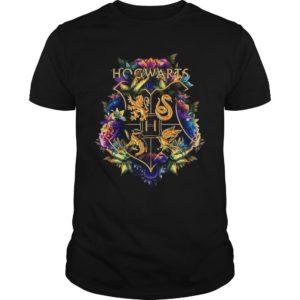 Flower Hogwarts Logo Shirt