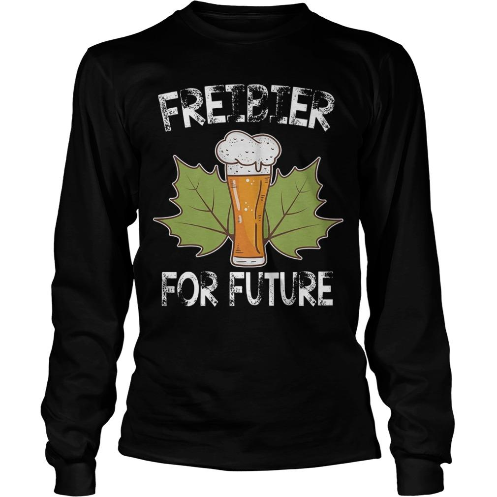 Freibier For Future Longsleeve