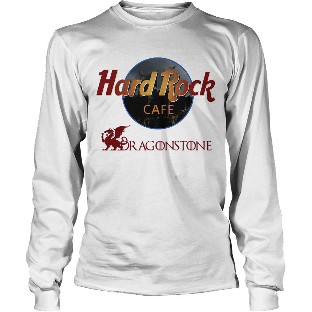 Game Of Thrones Hard Rock Cafe Dragonstone Longsleeve