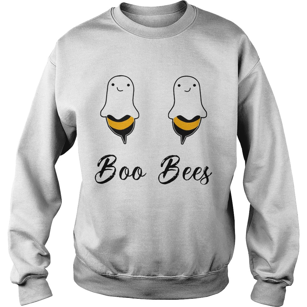Halloween Ghost Boo Bees Sweater