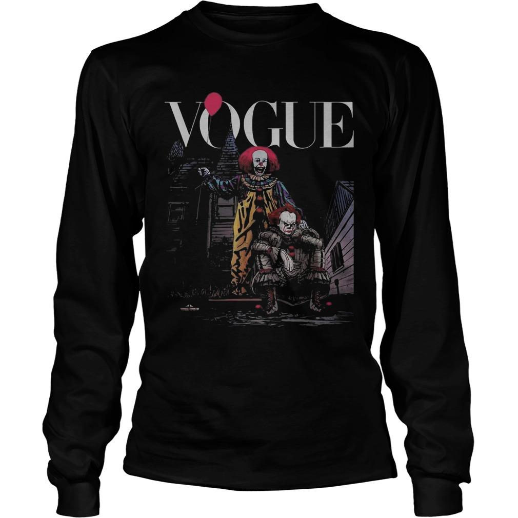 IT Pennywise Vogue Longsleeve
