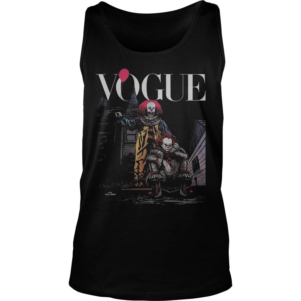 IT Pennywise Vogue Tank Top