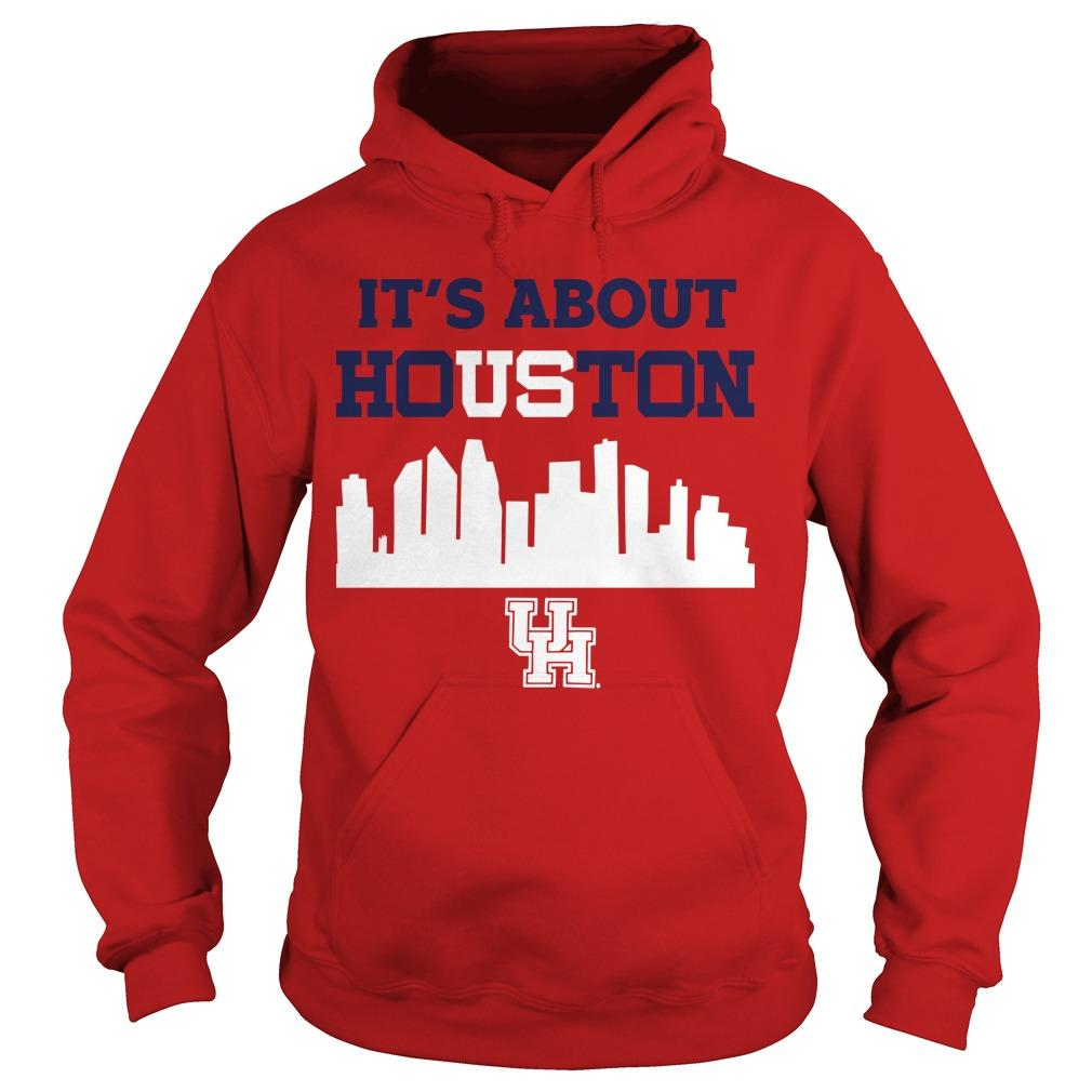Joseph Duarte It's About Houston Hoodie