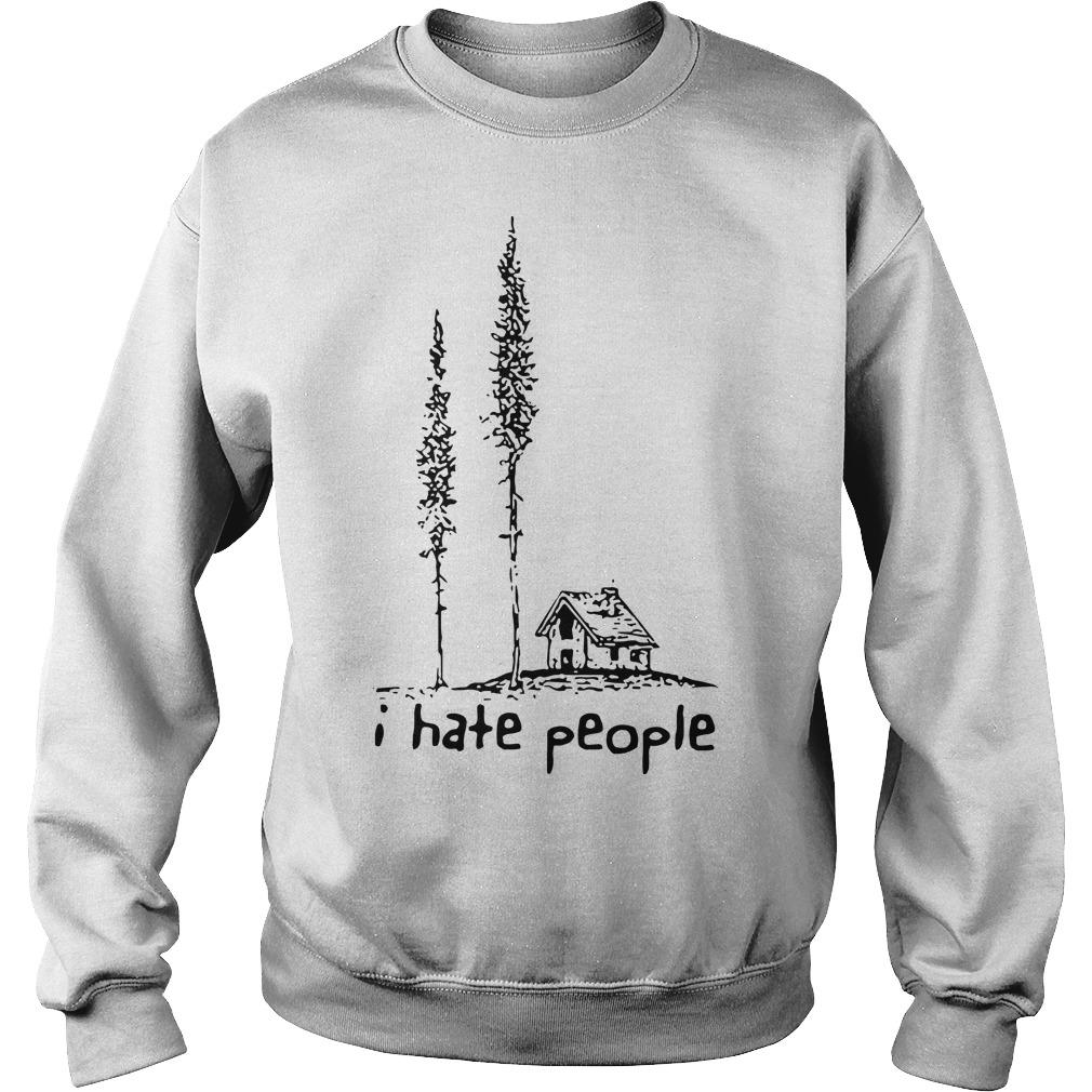 Lonely House I Hate People Sweater